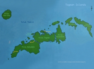 Togean-Map